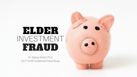 Elder Investment Fraud