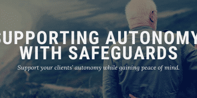 Supporting Autonomy with Safeguards