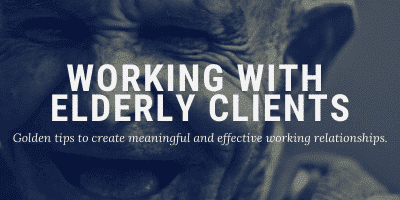 Working With Elderly Clients